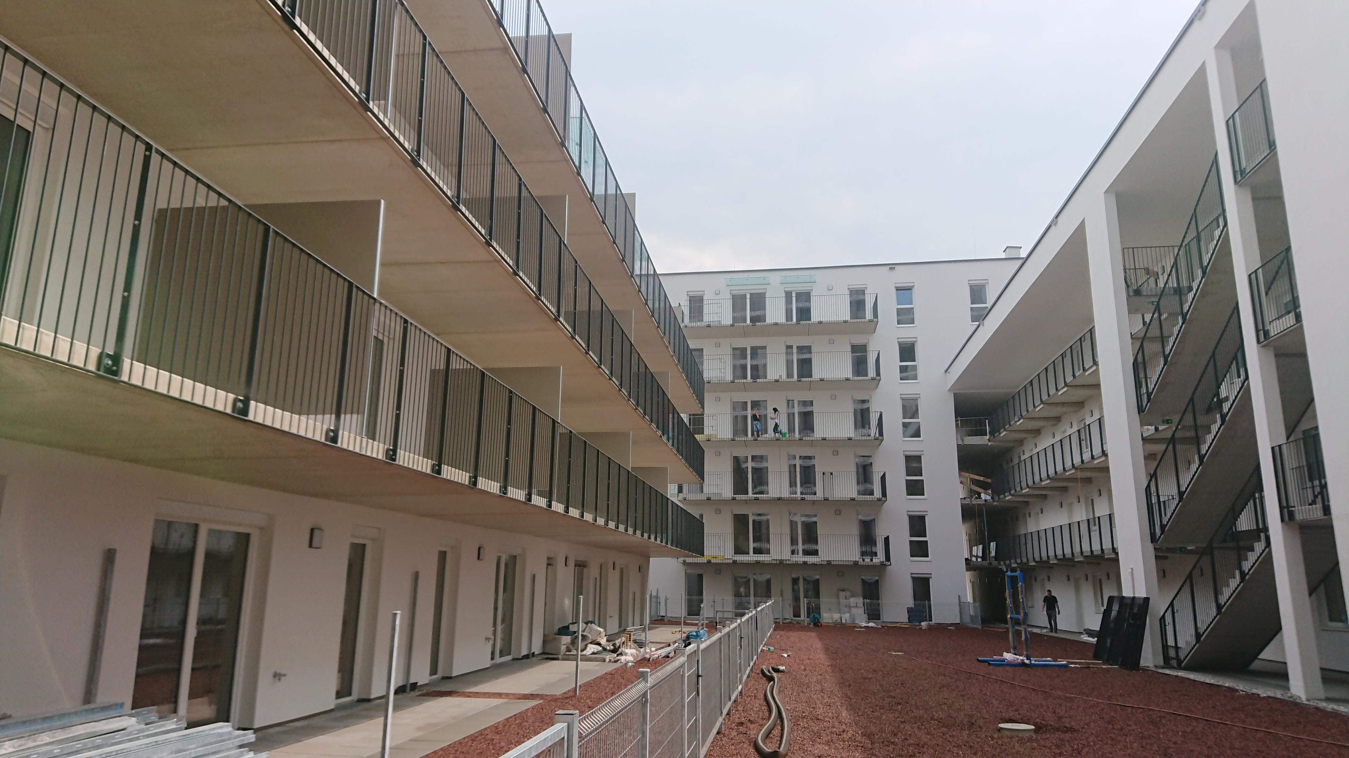 Baufertigstellung OST, Wohnen am Stadttor