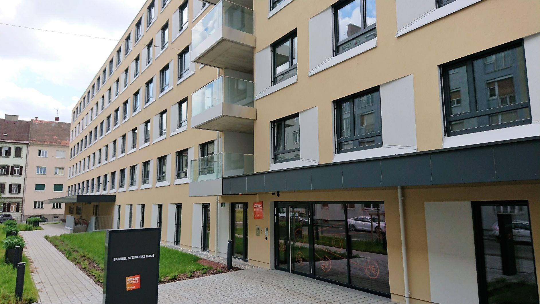 Baufortschritt Studentenwohnheim und Hotel Graz