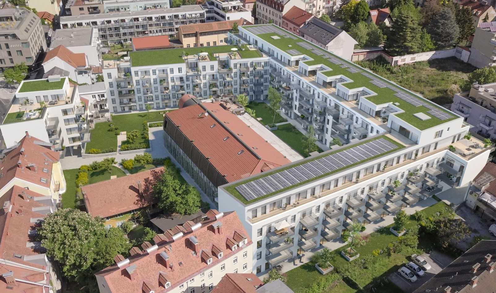Baustart Wohnanlage Neubaugasse