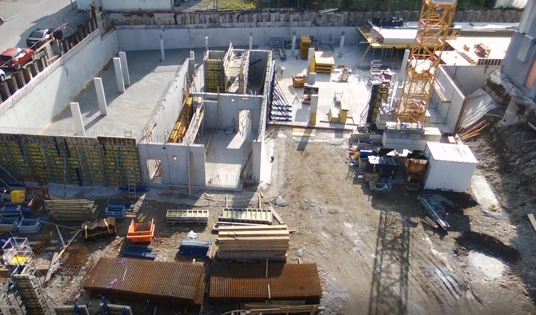 Baufortschritt BV Neubaugasse