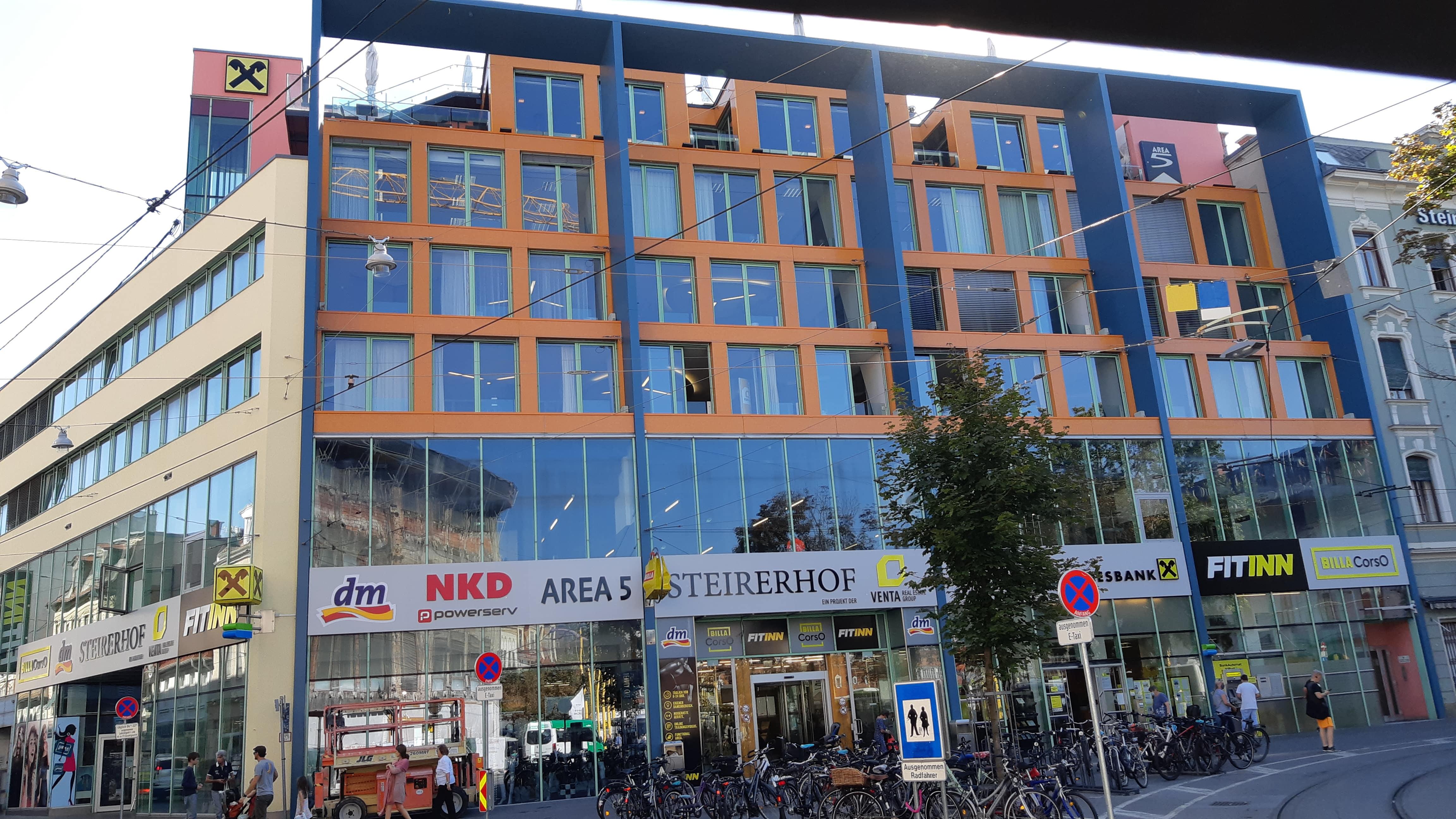 Fassadensanierung Steirerhof